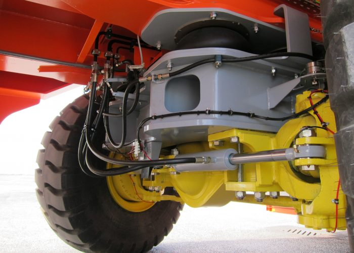 Steering system of the Automated Guided Vehicle