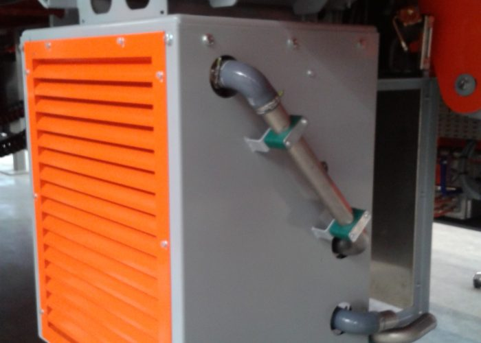 Cooling as part of an Automated Guided Vehicle