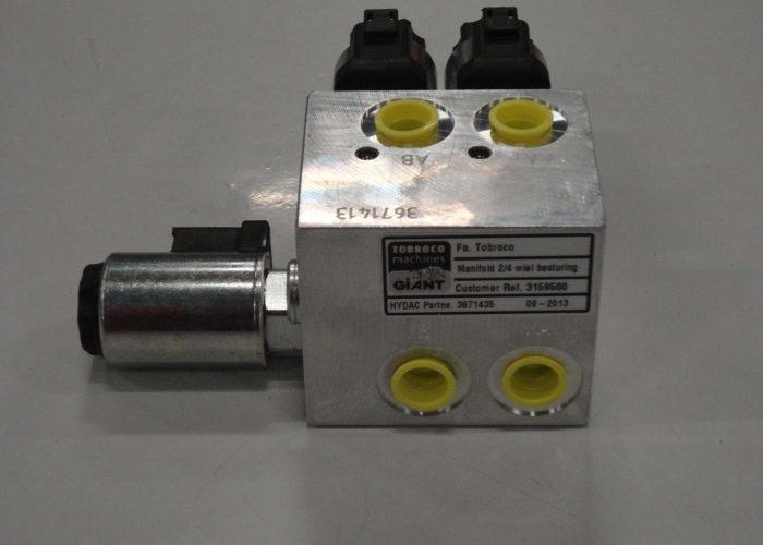 hydraulic manifolds